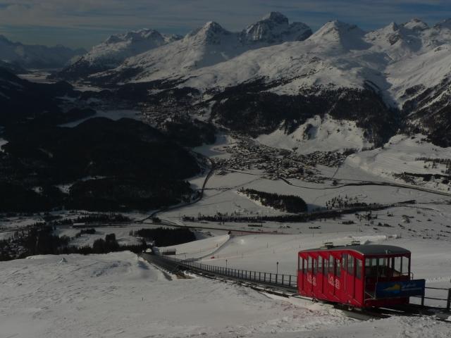 Vista panoramica da Muottas Muragl