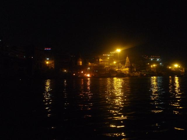 I ghat funerari sul Gange (Varanasi)