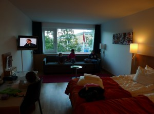 Family room allo Scandic Hotel Europa