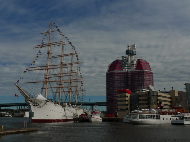 Il porto di Gothenburg