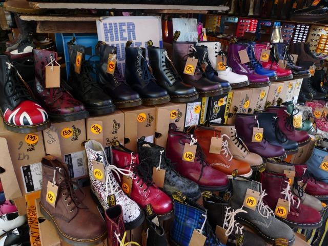 Jesshoes al flea market di Waterloo