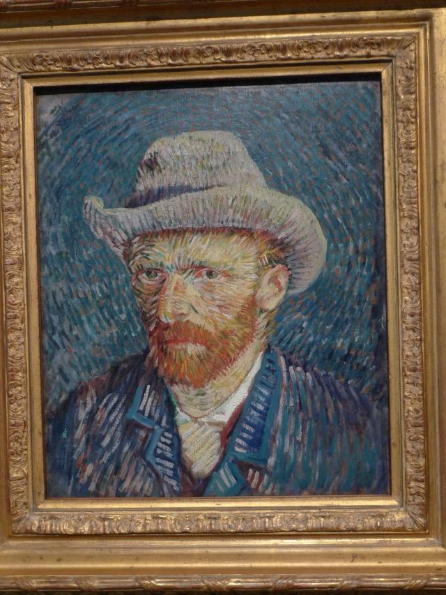 Vincent Van Gogh: autoritratto con cappellino