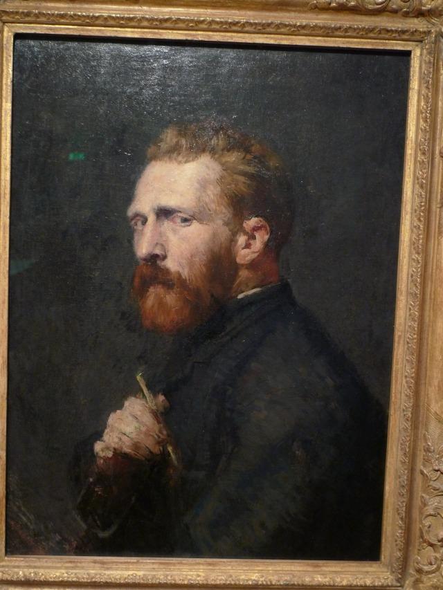Vincent Van Gogh: autoritratto in nero