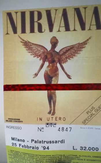 Nirvana, Milano 1994