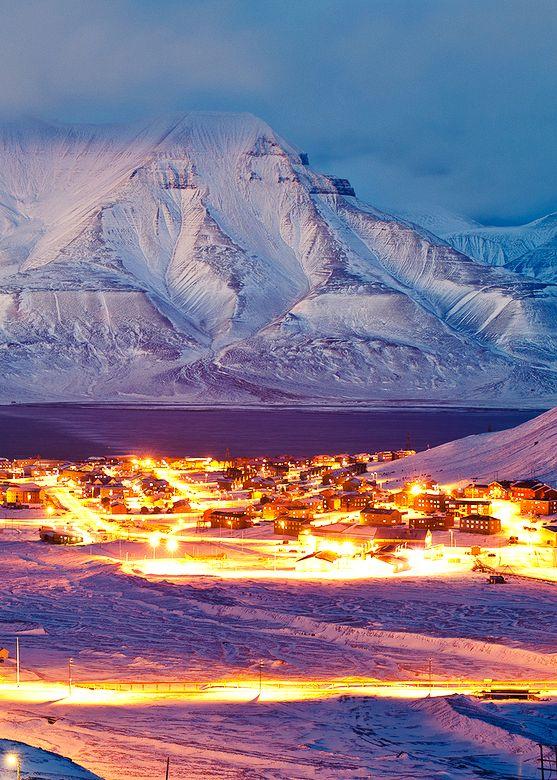 Longyearbyen, Isole Svalbard, Norvegia (Pinterest)