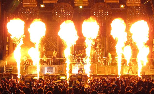 Rammstein live (web)