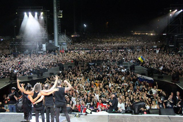 See you next time Rome ! ...maybe (metallica.com)