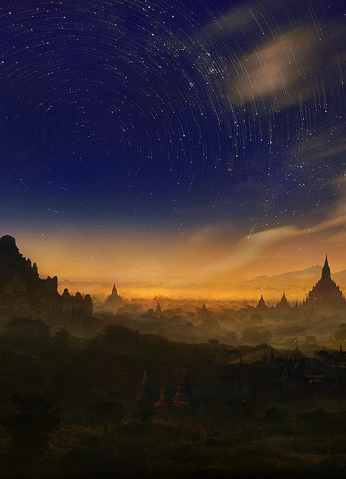 Bagan quando il giorno scivola nella notte (web)