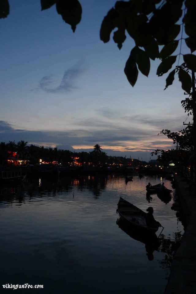Hoi An sul fiume Thu Bon (vikingandre.com)