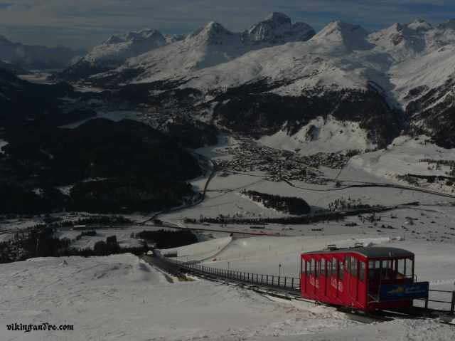 Muottas Muragl funicular station: majestic view on the valley and the Alps (vikingandre.com)