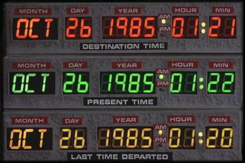 I circuiti temporali della DeLorean (Dovendo trasformare un'automobile in una macchina del tempo perché non usare una bella automobile?)