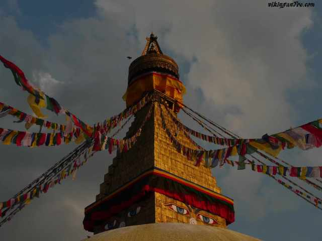 Boudhanath stupa, Kathmandu (vikingandre.com)