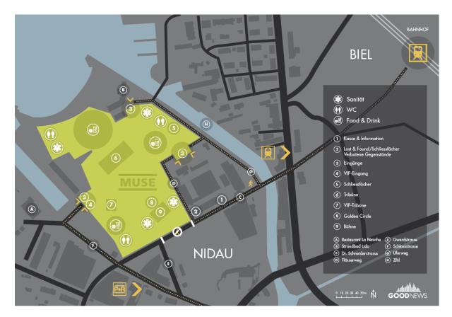 Sonisphere 2015 Biel Nidau: organizzazione svizzera (stavolta)