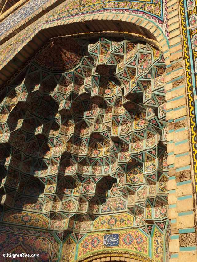 Benvenuti in Persia (Shiraz, Moschea delle Rose - vikingandre.com)