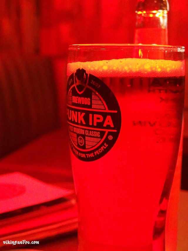 Pint of Punk IPA @ Brewdog Soho (vikingandre.com)