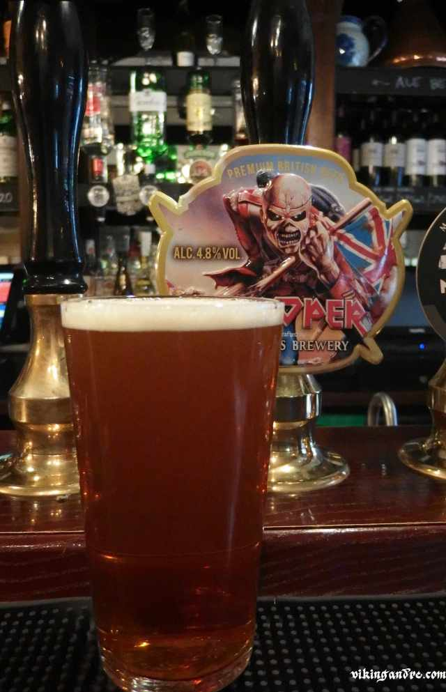 Trooper alla spina, premium British cask ale (vikingandre.com)