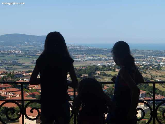Vista panoramica da Recanati (vikingandre.com)