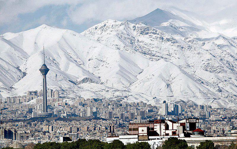 2 tehran snow